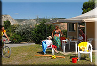 location chalets emplacements tentes equipees mobil home camping la nubliere 74210 doussard haute savoie