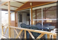 camping pierre aigle chalets terrasse
